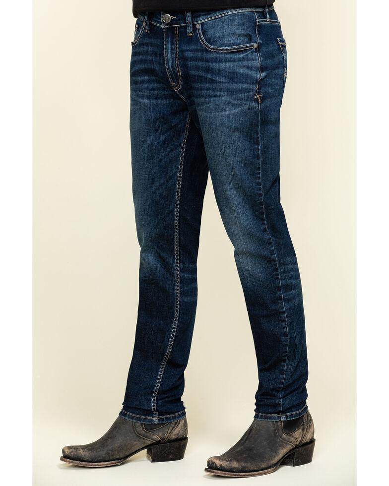 Moonshine Spirit Men's Ridin High Ultra Stretch Skinny Jeans , Blue, hi-res
