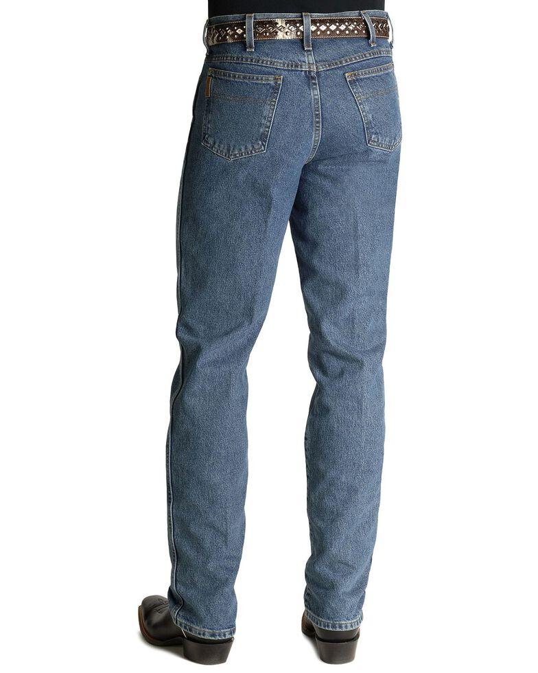 Cinch Men's Bronze Label Tapered Slim Fit Jeans , Midstone, hi-res