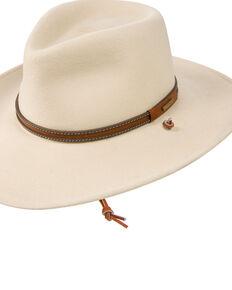 8e27da3d61b Stetson Mens Lawton Crushable Wool Western Hat