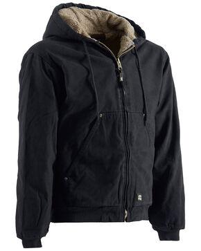 Berne High Country Hooded Jacket - Sherpa Lined, Black, hi-res
