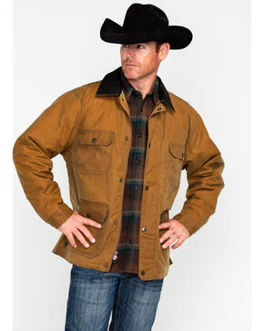 Outback Trading Co Men's Tan Gidley Jacket , Tan, hi-res