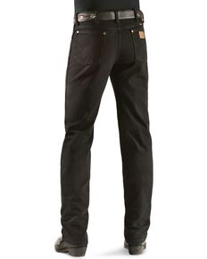 Wrangler 936 Cowboy Cut Slim Fit Jeans - Prewashed Colors, Shadow Black, hi-res