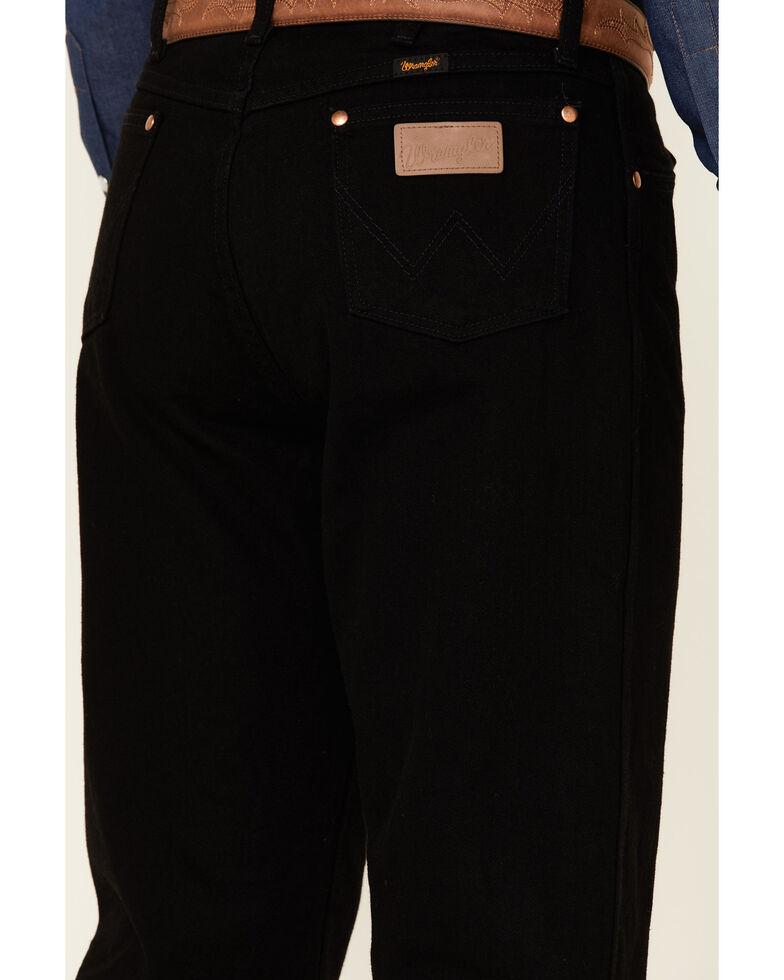 Wrangler 13MWZ Cowboy Cut Original Fit Jeans - Prewashed Colors, Shadow Black, hi-res