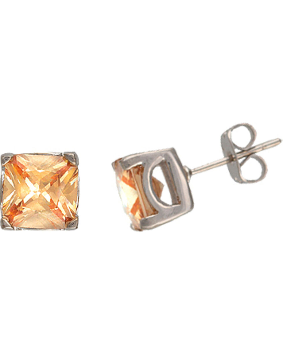 Montana Silversmiths Canyon Colors River Lights at Sunset Earrings, Silver, hi-res