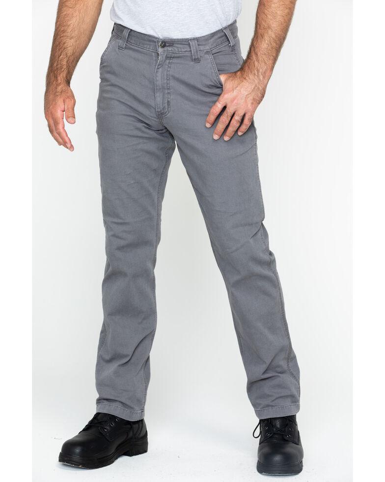Carhartt Men's Rugged Flex Rigby Dungarees , Grey, hi-res