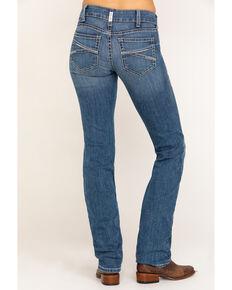 Ariat Women's R.E.A.L. Presley Straight Jeans  , Blue, hi-res
