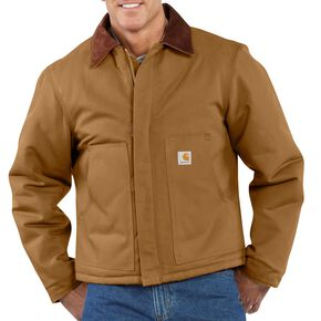 Carhartt Duck Traditional Jacket, Carhartt Brown, hi-res