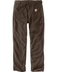Carhartt Men's Rugged Flex® Rigby Five-Pocket Jeans, Chocolate, hi-res