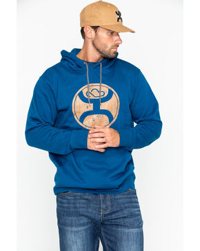 Hooey Men's 2.0 Pullover Hoodie , Royal Blue, hi-res