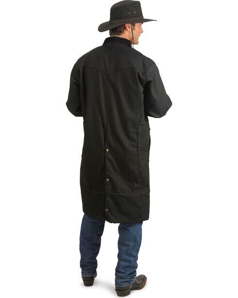 Schaefer Canvas Convertible Duster Jacket, Black, hi-res