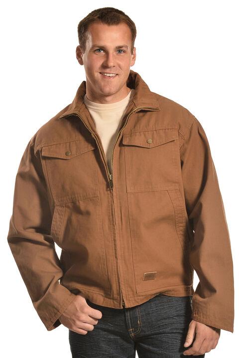 Forge Workwear Men's Brown Canvas Concealed Carry Jacket , Pecan, hi-res