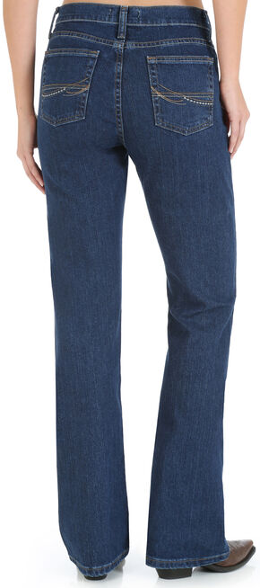 Wrangler Women's As Real As Wrangler Classic Fit Bootcut Jeans, Denim, hi-res