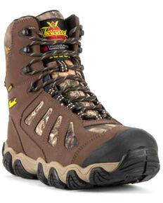 Thorogood Men's Crosstrex Waterproof Work Boots - Soft Toe, Camouflage, hi-res