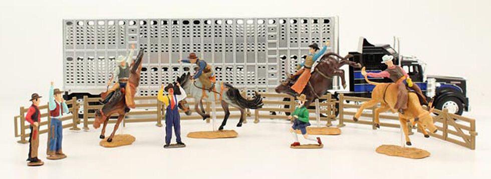 Bigtime Rodeo Complete Bull Hauler Rodeo Set, Grey, hi-res