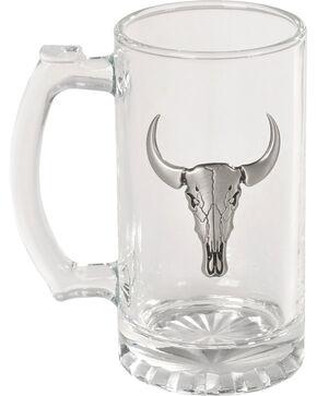 BB Ranch Bull Skull Beer Mug, No Color, hi-res
