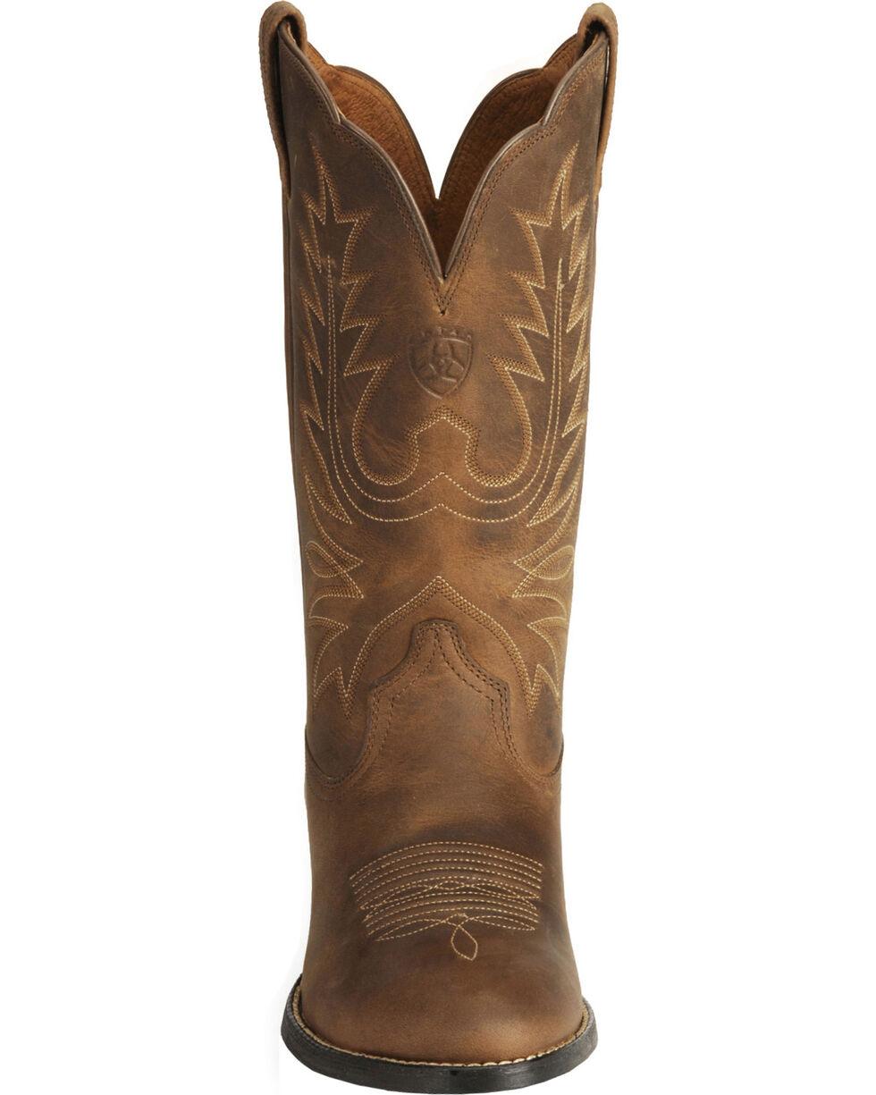 Ariat Women's Heritage Western Boots - Medium Toe, Distressed, hi-res