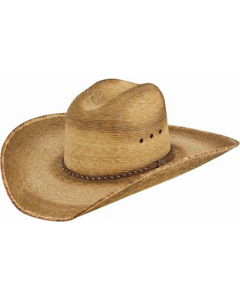 Justin Men's Toast Prado Palm Straw Hat , Beige/khaki, hi-res