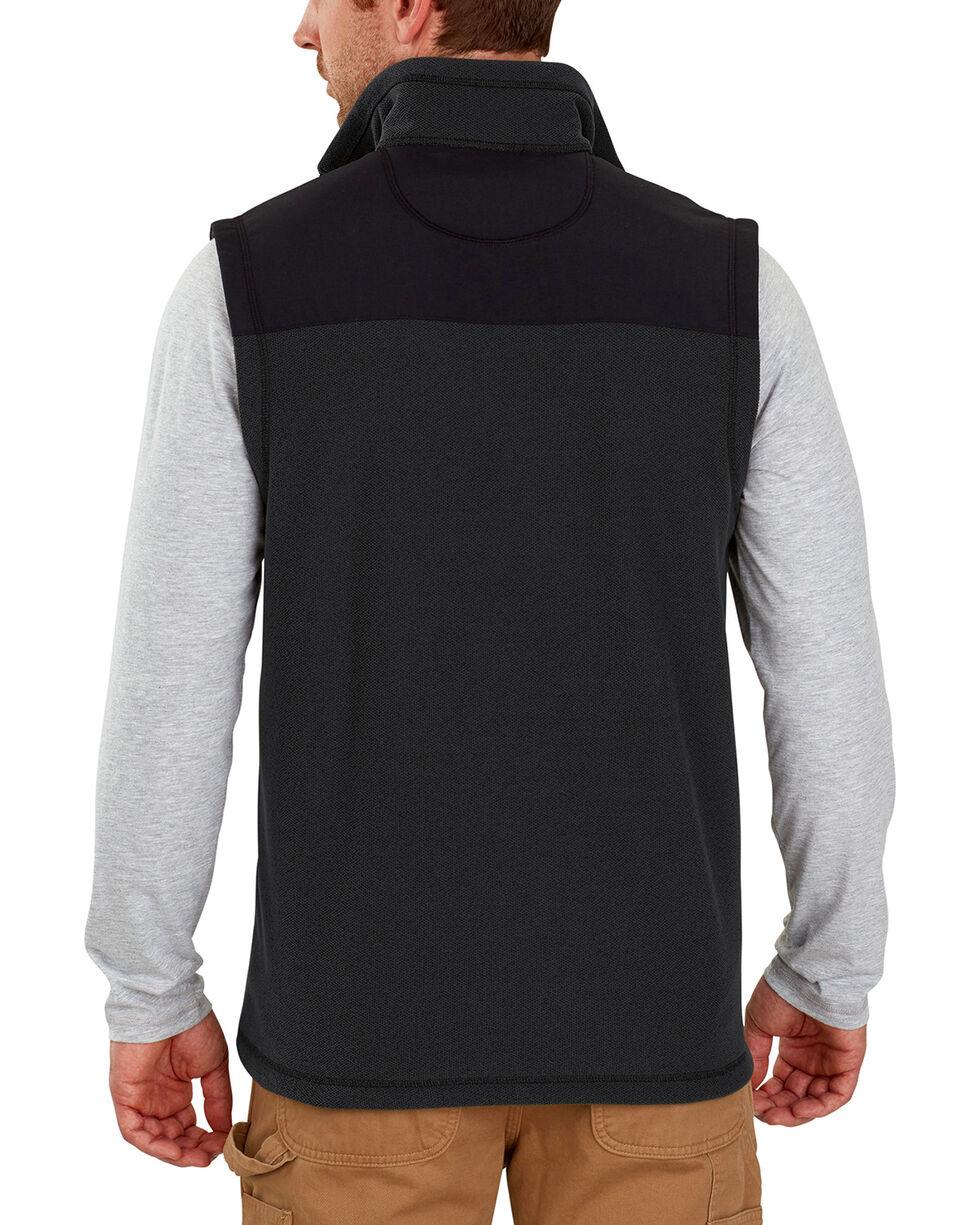 Carhartt Men's Fallon Fleece Vest , Black, hi-res