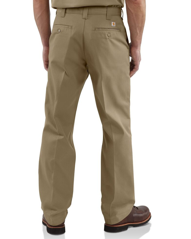 Carhartt Blended Twill Chino Work Pants, Khaki, hi-res