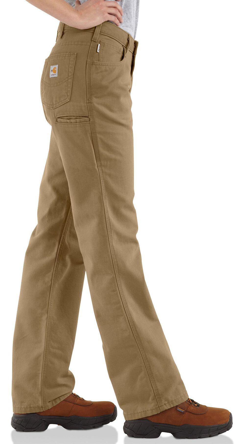 "Carhartt Flame Resistant Canvas Work Pants - 30"" Inseam, Khaki, hi-res"
