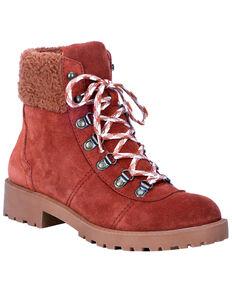 Dingo Women's Telluride Outdoor Boots - Round Toe, Olive, hi-res