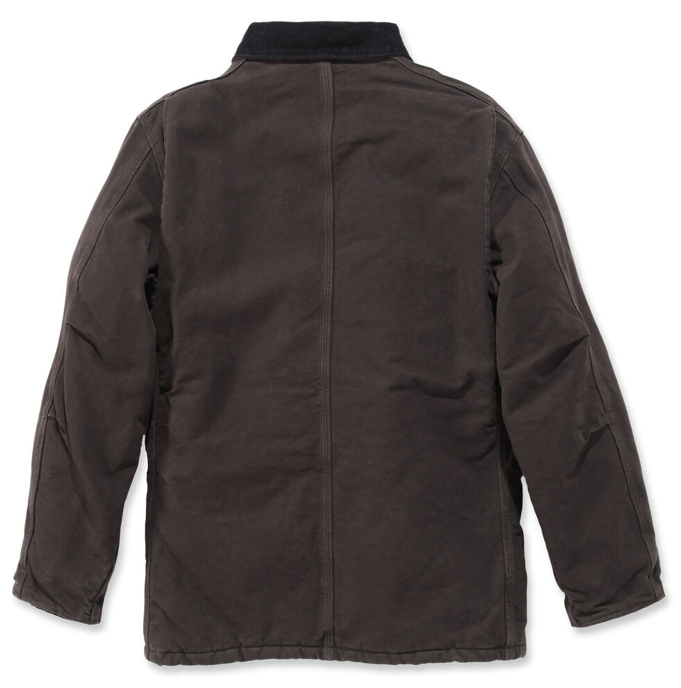 Carhartt Sandstone Traditional Work Coat - Big & Tall, Brown, hi-res