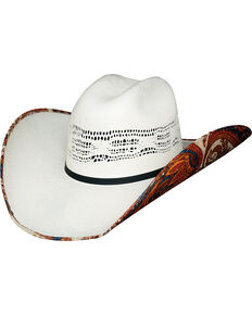 009708e4c5ac78 Bullhide Womens Wild Thoughts 1 Straw Cowgirl Hat, Natural, hi-res.  Warehouse In Stock