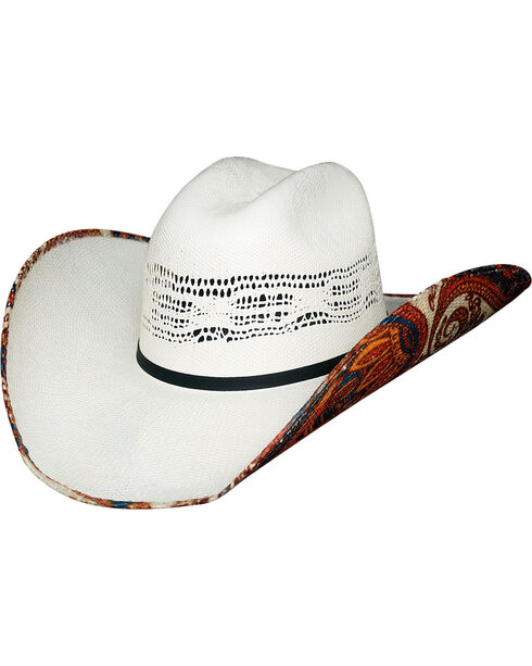Bullhide Women's Wild Thoughts 1 Straw Cowgirl Hat, Natural, hi-res