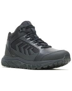Bates Men's Rush Shield Vent Work Boots - Soft Toe, Black, hi-res