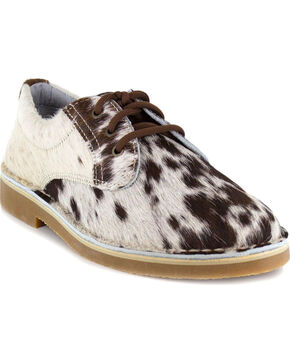 Uwezo Men's Cowhide Oxfords - Round Toe, Multi, hi-res