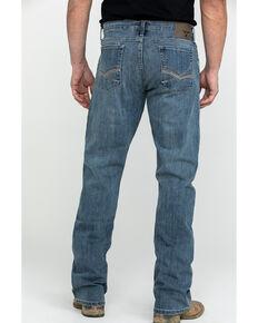 Wrangler Men's Light Denim Slim Bootcut Jeans , Blue, hi-res