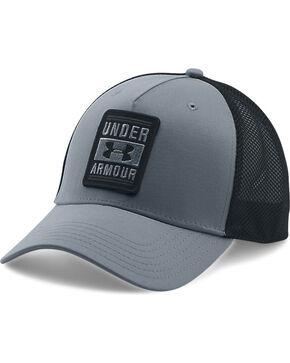 Under Armour Men's Outdoor Trucker Ball Cap, Grey, hi-res