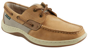 Eastland Men's Tan Solstice Boat Shoe Oxfords, Tan, hi-res