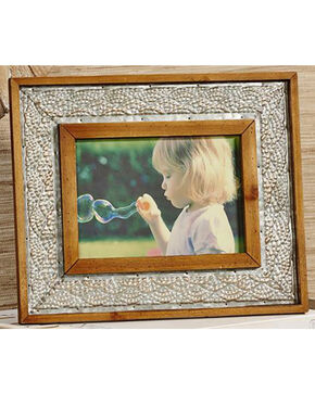 Giftcraft Antique White Horizontal Photo Frame , Tan, hi-res
