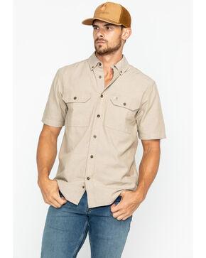 Carhartt Fort Short Sleeve Work Shirt - Big & Tall, Tan, hi-res