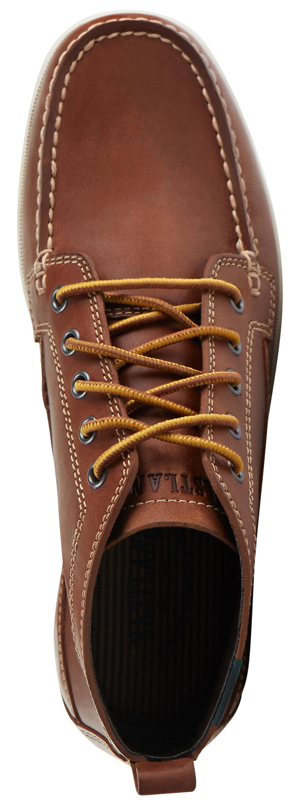 Eastland Men's Pecan Seneca Camp Moc Chukka Boot , Pecan, hi-res