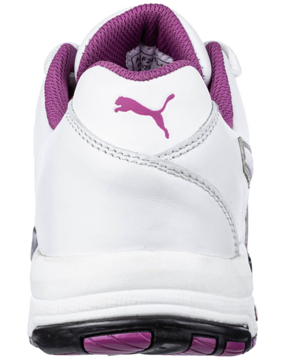 Puma Women's White Velocity Low Work Shoes - Steel Toe , , hi-res