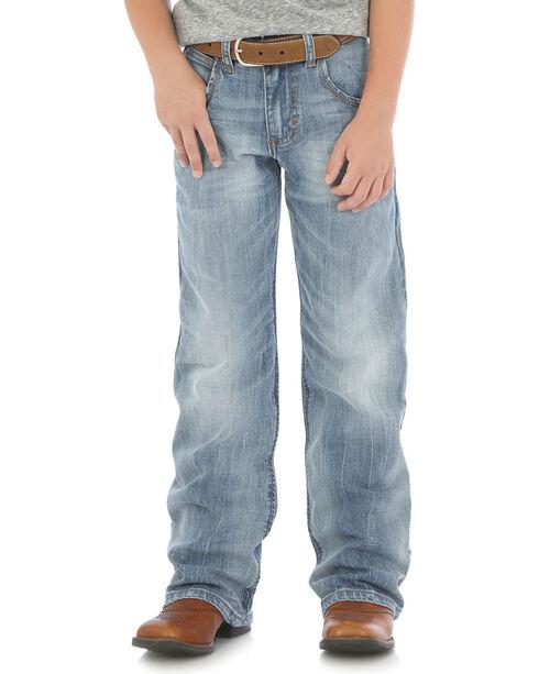 Wrangler Boys' (4-7) Indigo Retro Relaxed Fit Jeans - Boot Cut , Indigo, hi-res