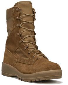 Belleville Men's C300 Hot Weather Military Boots - Steel Toe, Coyote, hi-res