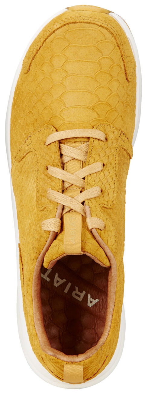 Ariat Women's Fiery Zilla Fusion Athletic Shoes , Yellow, hi-res