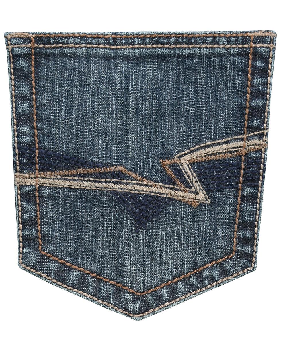 Wrangler 20X Men's No. 33 Kingman Extreme Relaxed Fit Straight Leg Jeans, Blue, hi-res
