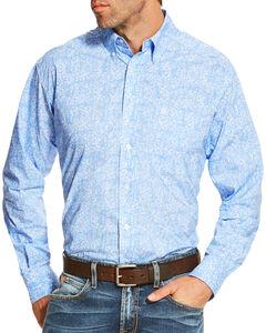 Ariat Men's Multi Orodell Print Long Sleeve Shirt , Multi, hi-res