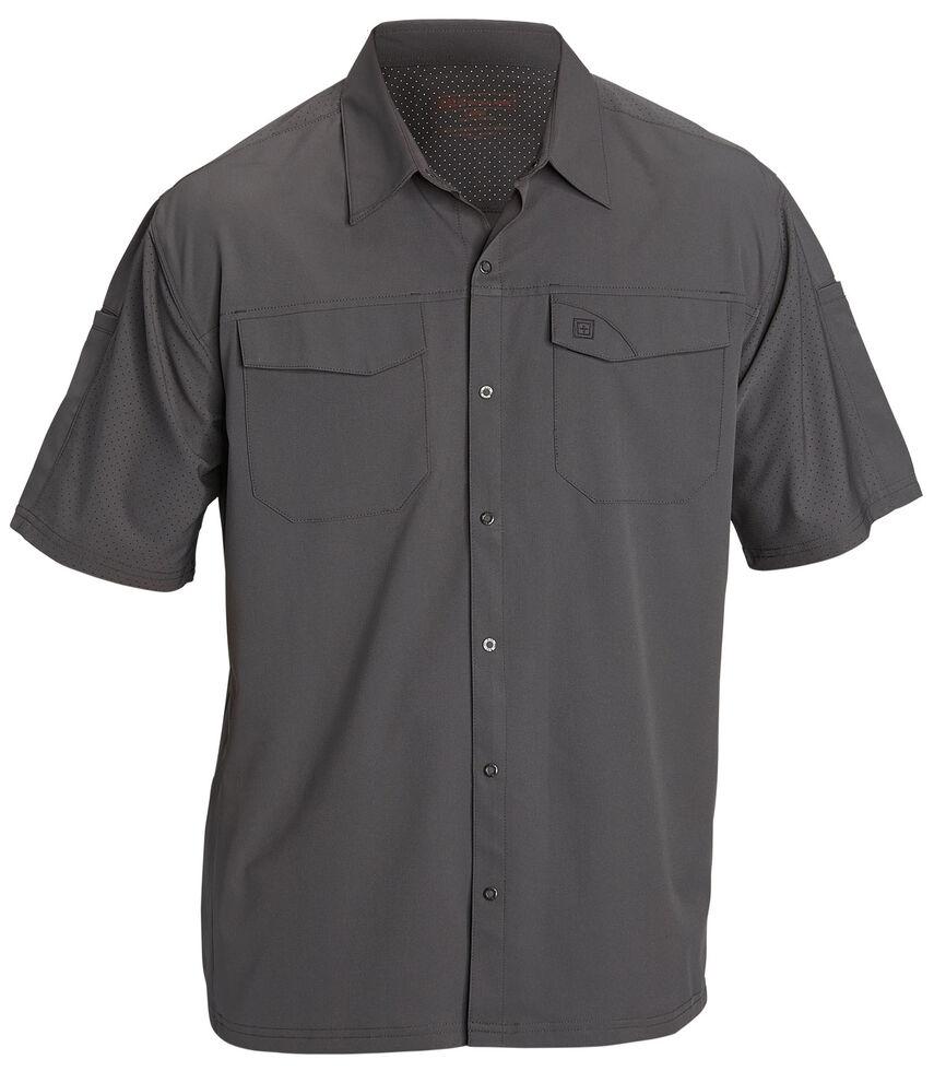 5.11 Tactical Freedom Flex Short Sleeve Woven Shirt, Storm, hi-res