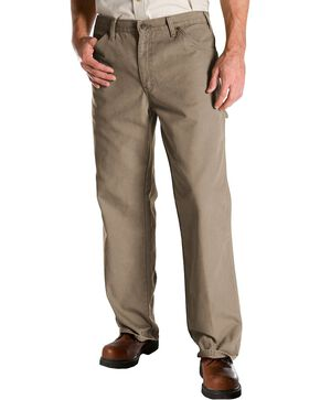Dickies Duck Twill Work Jeans, Sand, hi-res