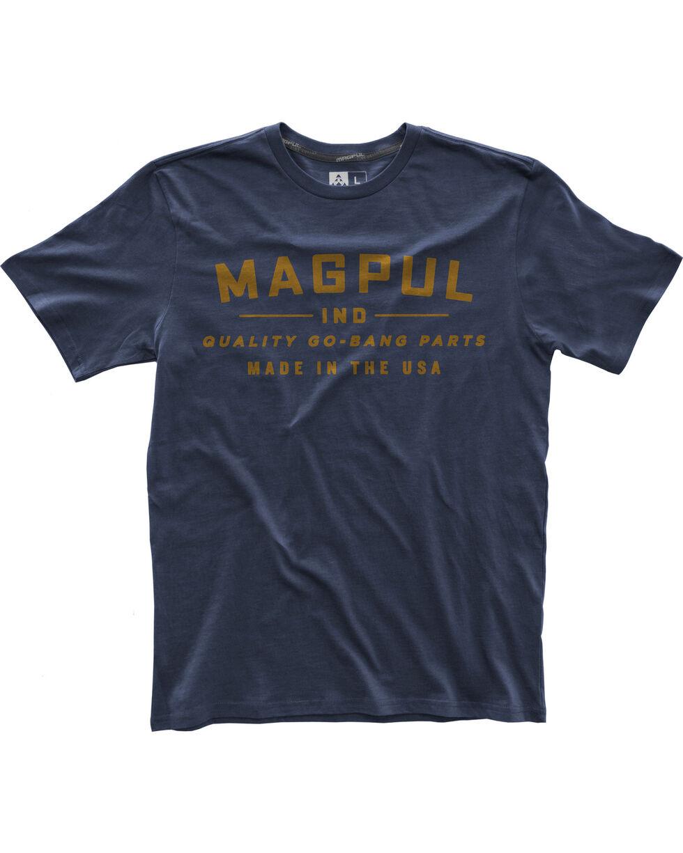Magpul Men's Fine Cotton Go Bang Parts T-Shirt , Navy, hi-res