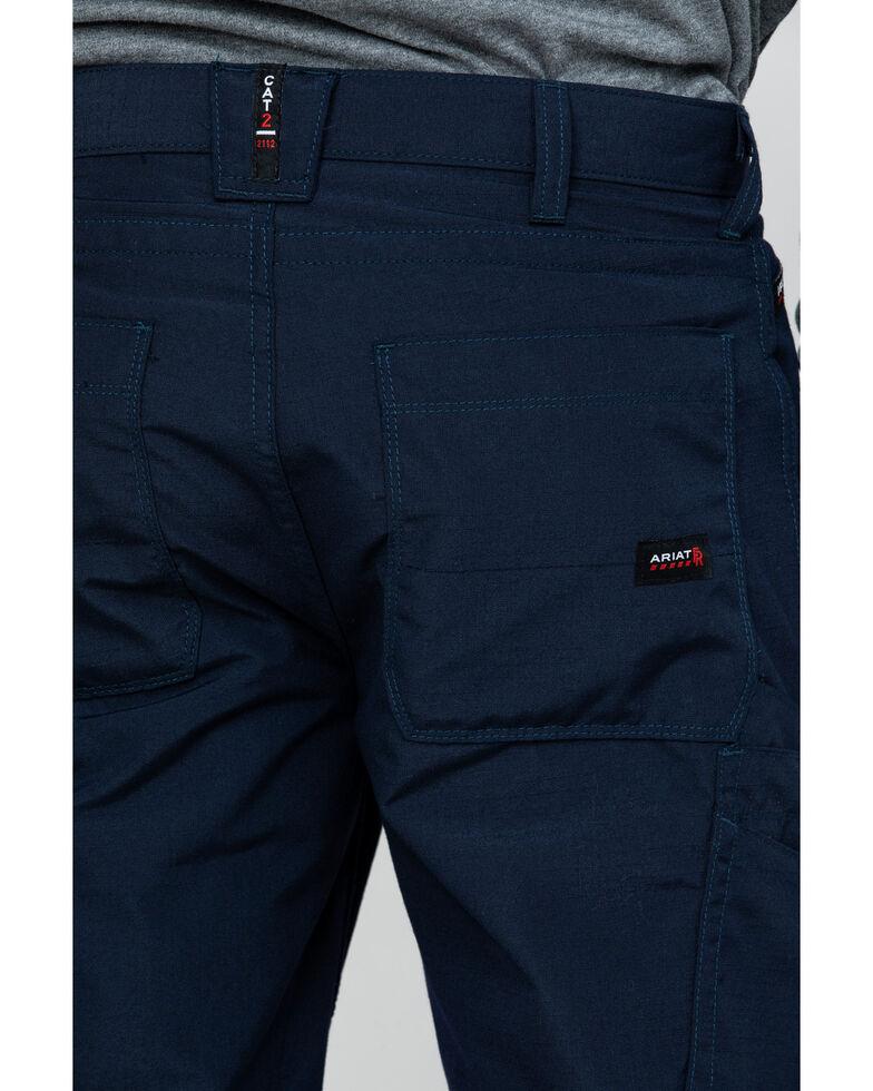 Ariat Men's Navy FR M4 Duralight Ripstop Work Pants