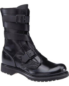"Corcoran Men's 10"" Tanker Leather Boots - Round Toe, Black, hi-res"