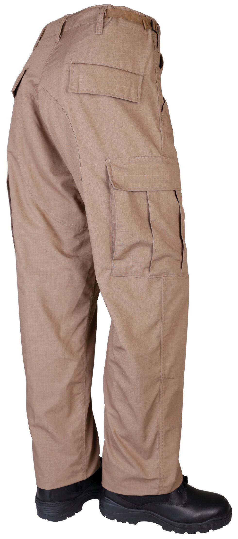 Tru-Spec Men's Tan BDU Pants , Tan, hi-res