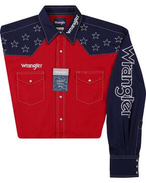 Wrangler Men's Red Star Logo Shirt , Red, hi-res