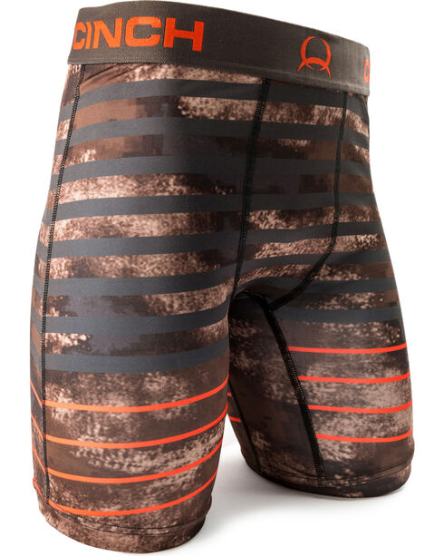 "Cinch Men's Multi Striped 9"" Boxers, Multi, hi-res"